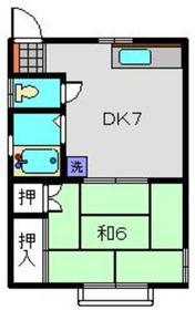 日吉駅 徒歩30分1階Fの間取り画像