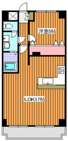 西高島平駅 徒歩17分2階Fの間取り画像