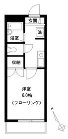 メゾンドセラヴィ3階Fの間取り画像