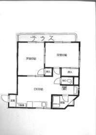 東武練馬駅 徒歩8分2階Fの間取り画像