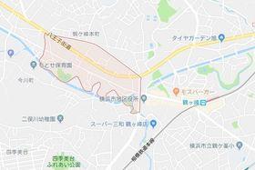 鶴ヶ峰駅 徒歩10分案内図