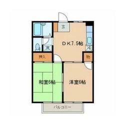 コンテッサ武蔵野A2階Fの間取り画像