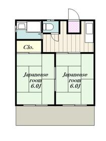 本厚木駅 バス10分「ユニシアジェックス前」徒歩5分1階Fの間取り画像