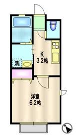 Noaniel Kuji1階Fの間取り画像