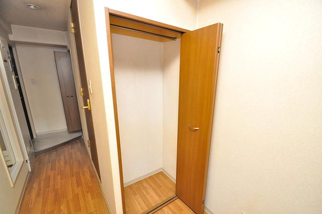 グランメール高井田 もちろん収納スペースも確保。お部屋がスッキリ片付きますね。