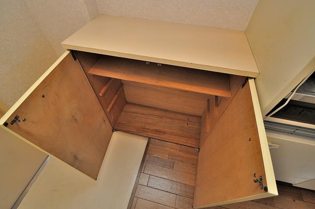 フューチャー21 明るい玄関には大きめのシューズボックスがありますよ。