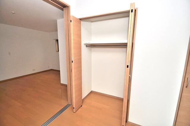 F maison MARE(エフメゾンマーレ) もちろん収納スペースも確保。おかげでお部屋の中がスッキリ。
