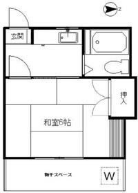 文京フレンドコーポ1階Fの間取り画像