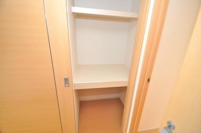 カーサルミエール もちろん収納スペースも確保。お部屋がスッキリ片付きますね。