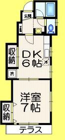 フィアー東高円寺1階Fの間取り画像
