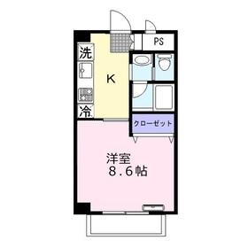 メルベーユふじみ野3階Fの間取り画像