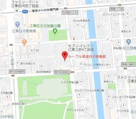 清澄白河駅 徒歩10分案内図