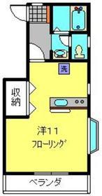 ラピス大倉山71階Fの間取り画像
