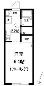 カーサクララ3階Fの間取り画像