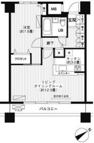 LOOP-M12階Fの間取り画像