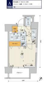 スカイコートパレス駒沢大学2階Fの間取り画像