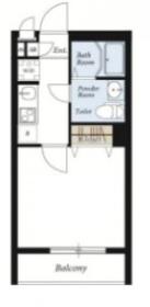 リブリ・三ツ沢フラッツ1階Fの間取り画像