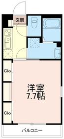 リブリドルフワン(リブリ ドルフone)2階Fの間取り画像