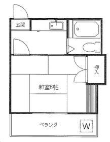 文京フレンドコーポ2階Fの間取り画像