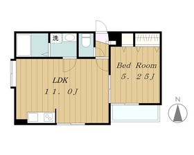 Premium Hills Machida1階Fの間取り画像