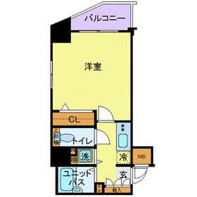 八丁畷駅 徒歩8分5階Fの間取り画像