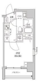 セジョリ横浜ウエスト9階Fの間取り画像