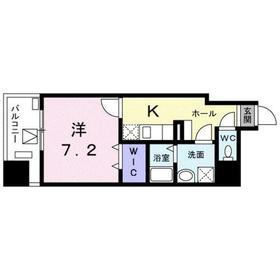ジャルディーノ 南葛西6階Fの間取り画像