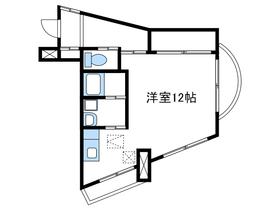 ルネスカトー壱番館2階Fの間取り画像