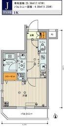 スカイコート池袋西弐番館4階Fの間取り画像