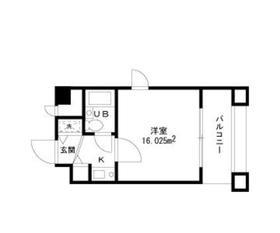 第17シグマビルディング川崎4階Fの間取り画像