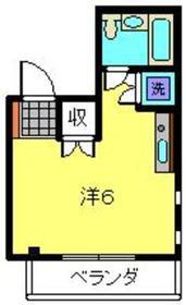 ビケンアーバンス2階Fの間取り画像