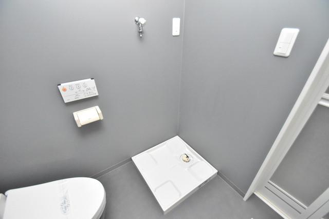 プログレス長瀬 室内に洗濯機置き場があれば雨の日でも安心ですね。