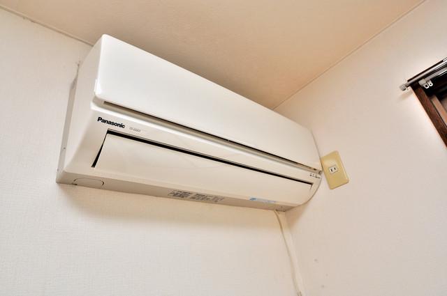 コボックス エアコンが最初からついているなんて、本当にうれしい限りです。
