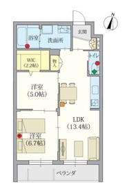 ヘーベルVillage 南大泉3階Fの間取り画像