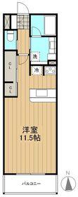 ロイヤルパーク多摩川2番館4階Fの間取り画像