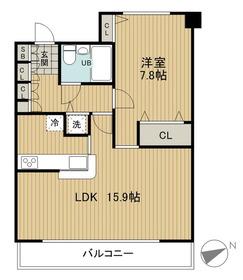 LOOP-M2階Fの間取り画像