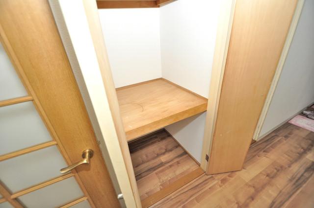 フローラ長田 もちろん収納スペースも確保。いたれりつくせりのお部屋です。