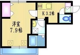シェルム・ヴァンベール2階Fの間取り画像