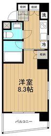 プリムローズ湘南2階Fの間取り画像
