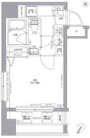 リクレイシア西横浜3階Fの間取り画像