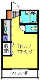 イーストヨコハマレジデンス3階Fの間取り画像