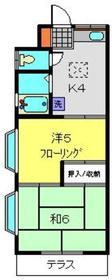 柳沢ビル1階Fの間取り画像
