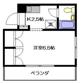 カーサケルクス3階Fの間取り画像