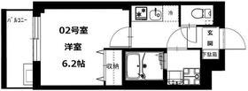 ビーカーサ横浜蒔田3階Fの間取り画像