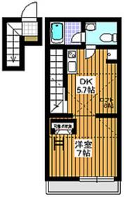 ピアセンテ和光32階Fの間取り画像