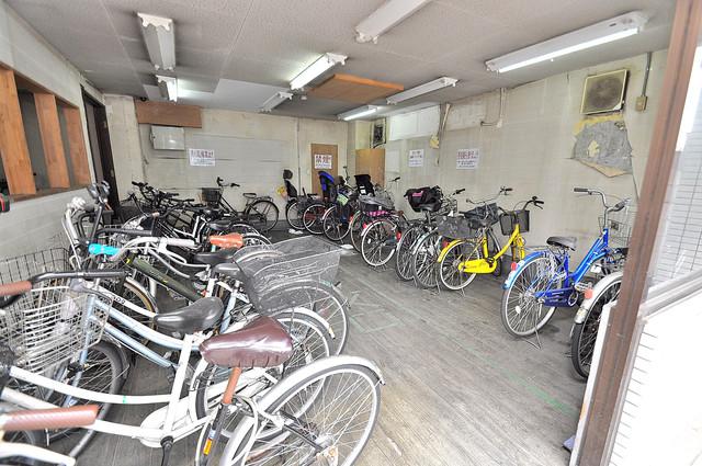 ロイヤル加美北 あなたの大事な自転車も安心してとめることができますね。