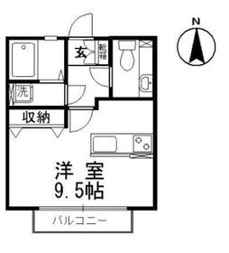ビューティフルハイム A1階Fの間取り画像