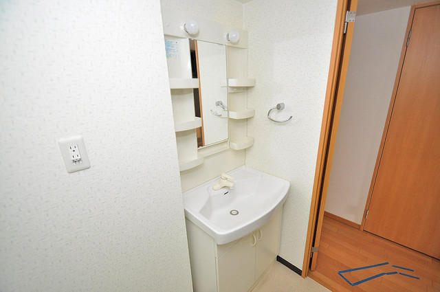 Gransisu Takaida 豪華な洗面台はもちろんシャンプードレッサー完備です。