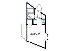クリオ小田急相模原壱番館1階Fの間取り画像