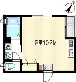 メゾンコンフォート3階Fの間取り画像